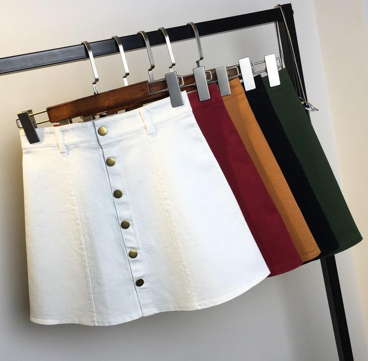 HTB10Ew7MpXXXXa4XFXXq6xXFXXX1 - American Apparel button Denim Skirt JKP265