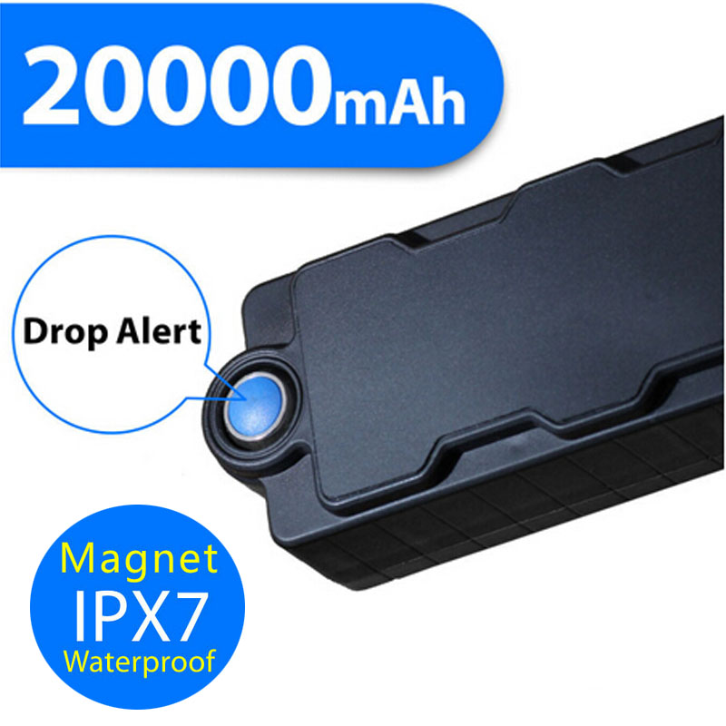 Methodical Wcdma 3g 2g 20000mah Waterproof Magnetic Power Bank With Hidden Gps Tracker And Digestion Helping Gsm Listening Device And Motion & Dropping Sensor