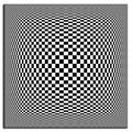 Black And White Visual Illusion Painting Modern Abstract Wall Painting Printed On Canvas Painting,Free Shipping