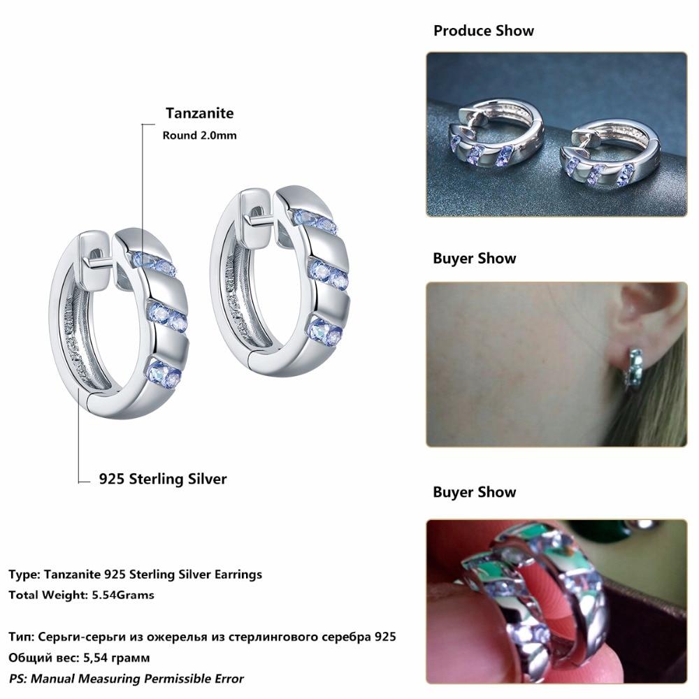 Hutang Stone Hoop Σκουλαρίκια Φυσικό - Κοσμήματα - Φωτογραφία 6