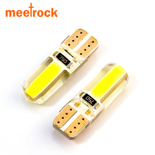 Newest T10 W5W LED car interior light cob marker lamp 12V 194 501 bulb wedge parking dome light white auto for lada car styling
