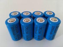 8 pcs/lot 3.7 V 1000 mAh Lithium Li-ion 16340 batterie CR123A Batteries rechargeables 3.7 V CR123 pour cellule de lampe de poche LED stylo Laser