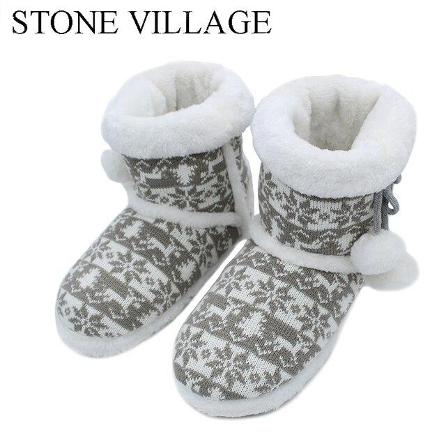 Новинка 2017 года шерстяного трикотажа мягкие теплые зимние плюшевые тапочки мягкий немой домашние тапочки милый мяч Для женщин Шлёпанцы для женщин Высокое качество indoor Обувь