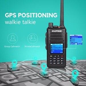 Image 2 - Портативная рация baofeng dmr DM 1702 GPS с голосовой записью vhf uhf двухсторонняя радиосвязь 136 174 и 400 470 МГц