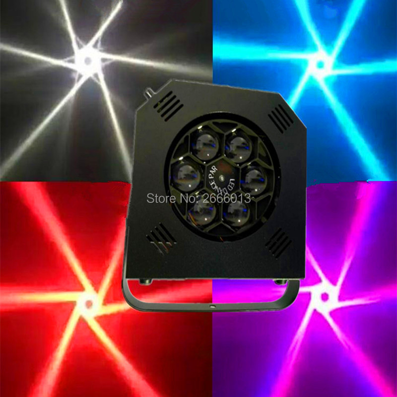 6X15W RGBW 4in1 LED Mini Bee Eye Beam Light, DMX512 LED Par Light KTV/DJ /Bar /Party /Show /Stage Effect Light LED Stage Machine mini laser light r g color stage light dj bar party show stage light led stage machine