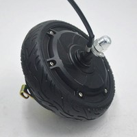 250W 350W 24V 36V 48V electric Scooter motor hub wheel 6.5 inch Scooter Motor engine for electric scooter/xiaomi scooter