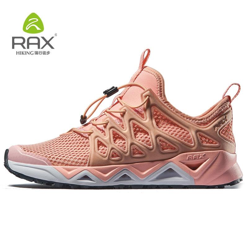 RAX Water Shoes Women for Professional Aqua Shoes Lightweight Quick-drying Fishing Shoes Women Breathable Walking Shoes 451W
