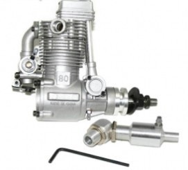 ASP 4 Stroke FS80AR Nitro Engine for RC Airplane original asp wasp ap06 s06a ap061a 061 r c nitro engine 6 grade 1cc mini engine for rc airplane