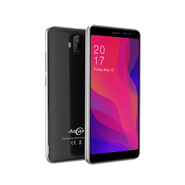 Allcall Rio X MTK6580 Quad Core 1GB 8GB Android 8.1 18:9 5.5 Inch Camera 13MP+2MP 2850mAh 3G Smartphone