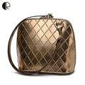 Recién llegado de las mujeres diseñador de la marca Solid Messenger Bags moda celosía cinturón pequeño colgajo de época pequeñas mujeres Shell bañador BS622