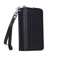 Luxury S7 Women Zipper Leather Wallet Case For Samsung Galaxy S5 Neo S6 S7 Edge S8 S8 Plus Note 4 5 Handbag Cover Ladies