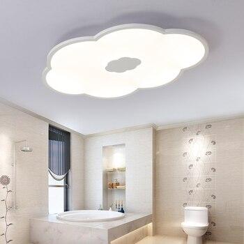 Łuszcząca chmury Led ultra cienki światło sufitowe nowoczesne proste chmura lampa pokoju dziecięcego kreatywny salon badania światła ZL187