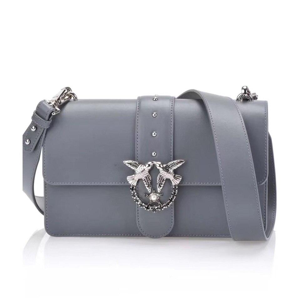 2018 новейшие модные Ласточка замок сумка роскошные известные бренды Стиль сумки женские сумки натуральная кожа цепи bolsas