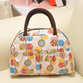 2016 nova moda saco do almoço das mulheres bolsas das mulheres à prova d' água impresso lunch box lunch bag para crianças saco do piquenique 22 cores