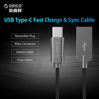 ORICO USB Type A to C Cable Hi-speed USB Sync & Charging Cable for Huawei P9 Macbook LG G5 Xiaomi Mi 5 HTC 10 More Zinc Alloy