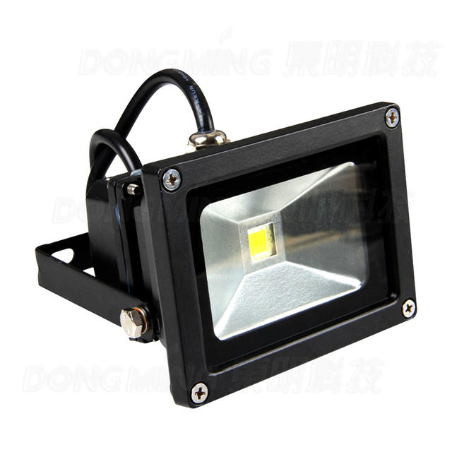 10W LED Floodlight Outdoor Lighting Black Shape RGB Led Spotlight  Waterproof IP65 DC12V LED Lighting
