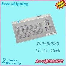 Высококачественный аккумулятор для ноутбука SONY VGP-BPS33 11,4 V 43wh