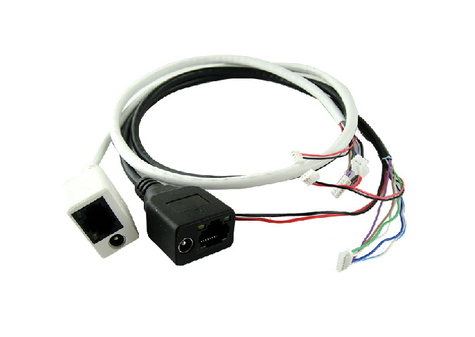 1 PCS IP camera video surveillance tail wire free shipping