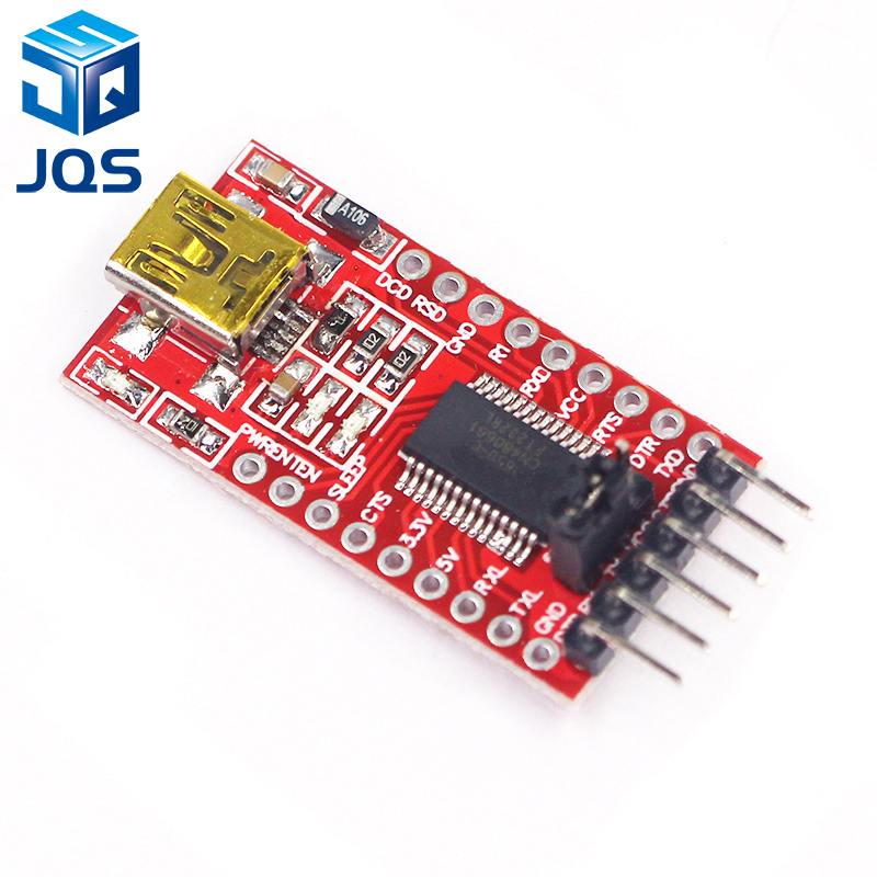 цена на FT232RL FTDI USB 3.3V 5.5V to TTL Serial Adapter Module for Arduino FT232 Mini Port.Buy a good quality Please choose me