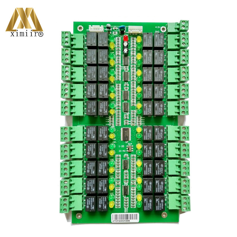 Lift Access Control Panel For 40 Floors 1pc Main Controller 2pcs Extend Panel Elevator Access Control System Lift Access Control Panel For 40 Floors 1pc Main Controller 2pcs Extend Panel Elevator Access Control System