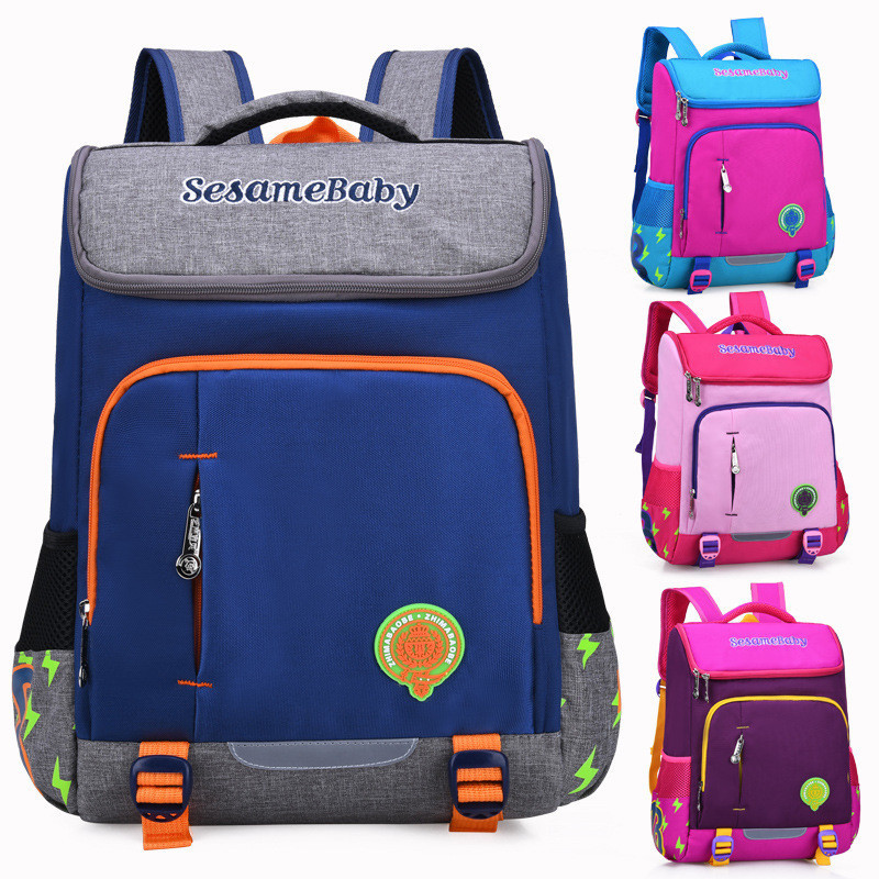 School Backpacks For Boys Girls Primary Kids Bags High Quality Large Size Capacity School Bags For Children Girls Mochilas