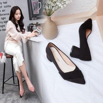 2019 new summer pointed sexy high heel sandals women's brand designer fashion ladies thick with high heel sandals a3 1