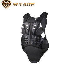 SULAITE Motorcycle Jacket Men Armor Chest Back Body Protector Vest Motocross Protective Gears