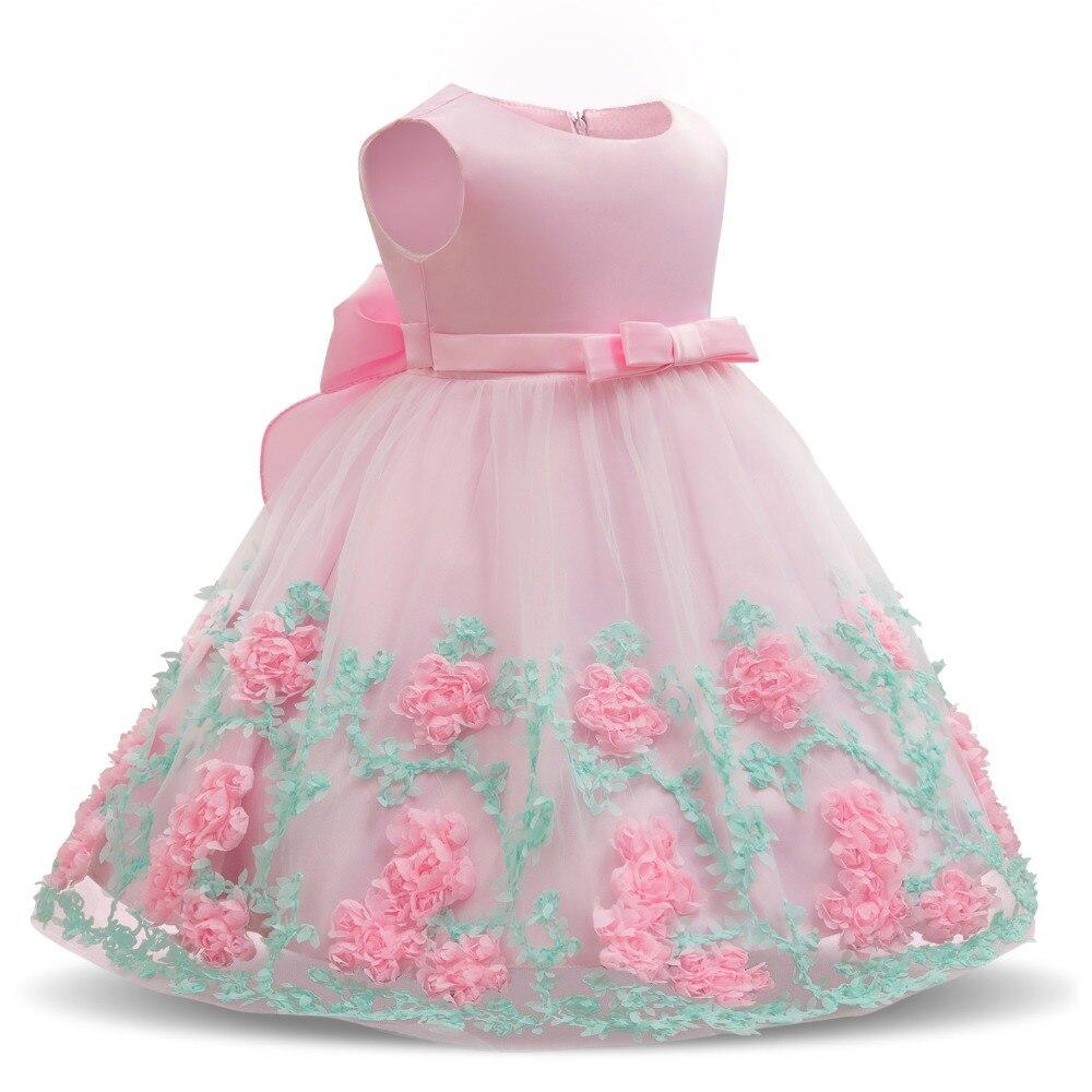 Sommer Baby Kleider Neugeborenen Baby Mädchen Taufe Kleider für ...