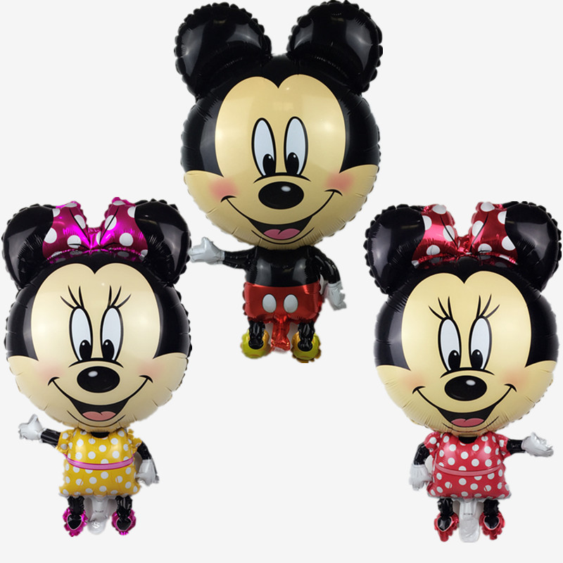 XXPWJ Free Shipping New 87cm * 46cm Minnie Alice Balloon Children's Toy Party Bi