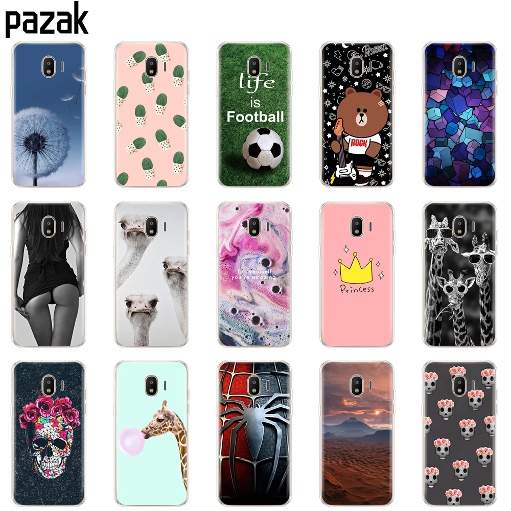 Silicone Case For Samsung J2 Core Case Bumper Back Cover Phone For Samsung Galaxy J2 Core 2018 J 2 SM-J260F J260F J260 Painting
