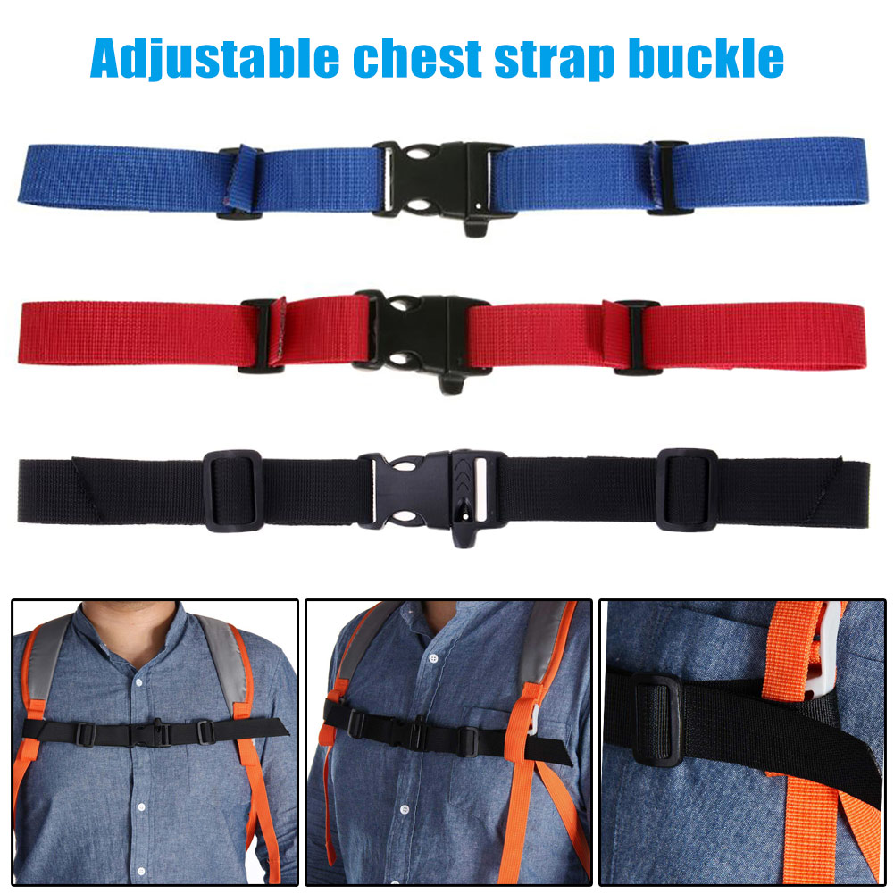 1pcs Adjustable Outdoor Backpack Strap Buckle Anti-slip Sport Bag Accessories Outdoor Hiking Backpack Strap By Scientific Process