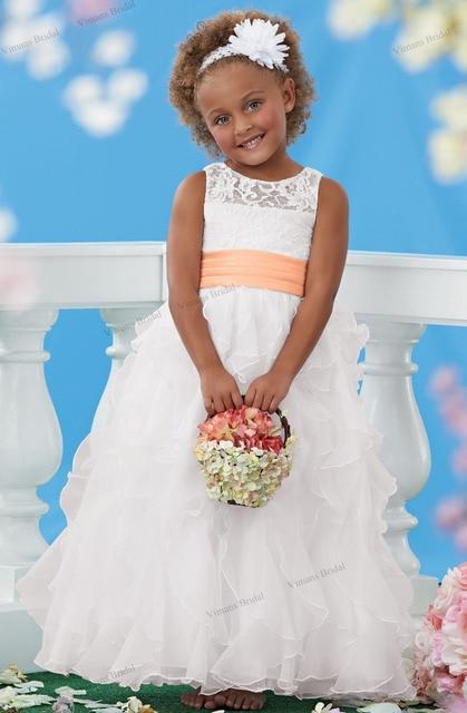 2015 free shipping white flower girl dress for weddings ball gown 2015 free shipping white flower girl dress for weddings ball gown floor length children dress mightylinksfo