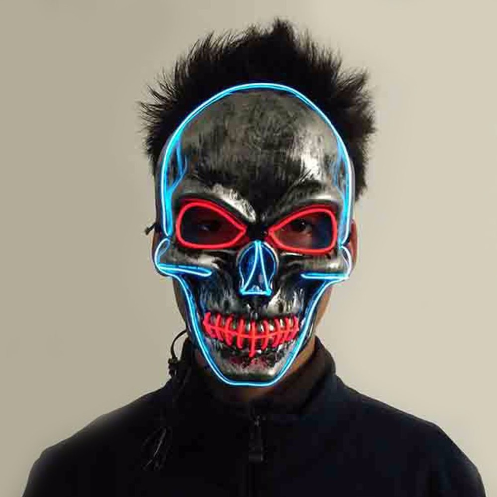 Popular Led Skull Mask-Buy Cheap Led Skull Mask lots from China ...