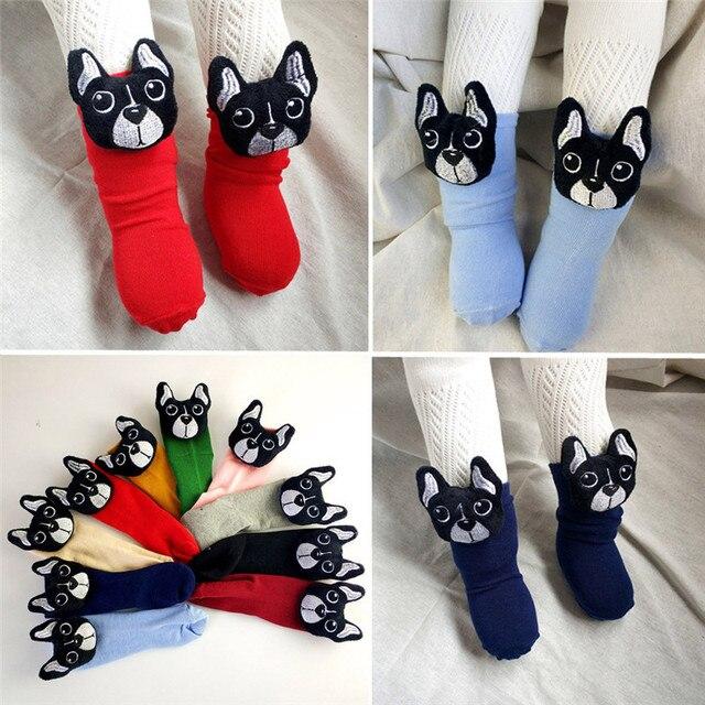 brixini.com - 3D Cartoon Dog Anti-Slip Socks