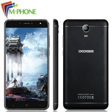 Оригинал DOOGEE X7 Pro мобильный телефон 6.0 дюймов 4 г LTE 3700 мАч Android 6.0 MT6737 4 ядра телефона 2 ГБ Оперативная память 16 ГБ Встроенная память смартфона