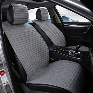 Image 2 - 2 pcs cover mat Protect car seat cushion Universal/O SHI CAR seat covers Fit Most Automotive interior, Truck, Suv,or Van