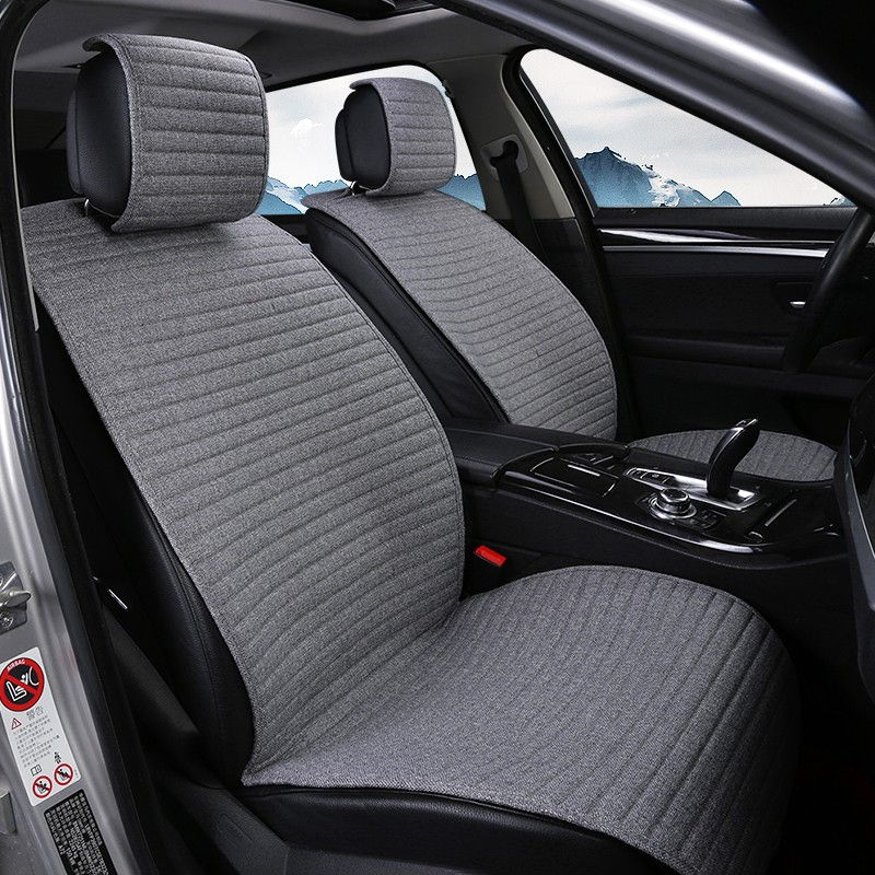 2 pièces tapis de couverture protéger le coussin de siège de voiture universel/O SHI housses de siège de voiture pour Kia etc. la plupart des véhicules à moteur intérieur, camion, Suv ou Van - 2