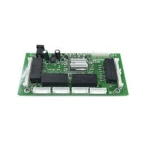 Image 4 - OEM PBC 8 Port Gigabit Ethernet Switch 8 Port met 8 pin way header 10/100/1000 m hub 8way power pin Pcb board OEM schroef gat