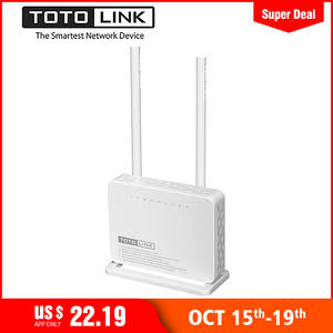 TOTOLINK ND300 300 Mbps + Modem Wifi Router Wi-Fi Repeater/Modem/AP/4-port