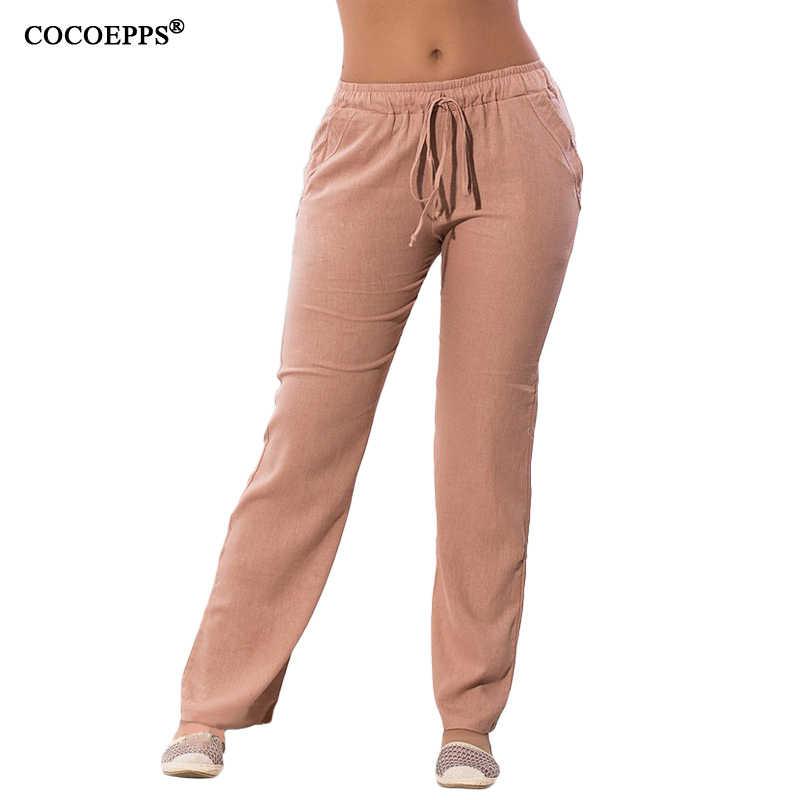 ビッグサイズの女性カジュアルシフォンパンツ 5XL 6XLプラスサイズ夏パンツ 2018 ホット大型サイズの巾着弾性ウエストポケットズボン