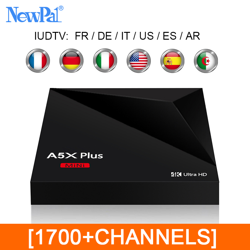 2017 Android TV Box European Arabic IPTV Box Support 1700+ Free French/German/Turkish/Spanish Channels(One Year Validty)