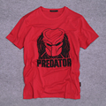 Película Predator Logo Adulto hombres Camiseta Fan Ropa Camisa 100% de algodón de Manga Corta Camiseta