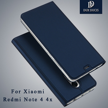 Xiaomi Redmi Note 4 4x случае dux DUCIS Бумажник кожаный чехол Xiaomi Redmi Note 4 Pro откидная крышка для xiomi Redmi Note 4 случаях 5.5″
