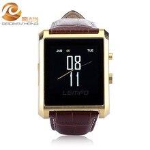 DM08 Bluetooth Smart Uhr Männer Leder IPS Smartwatch Armbanduhr für ios Android Telefon PK M26 U8 DZ09 GV08 GV18 Uhr