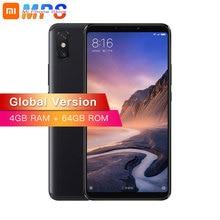 Глобальная версия Xiaomi mi макс 3 4 GB 64 GB mi макс 3 B4 B20 телефон Snapdragon 636 Octa Core 6,9 «полный Экран 5500 mAh