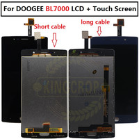 Doogee BL7000 LCD Display+Touch Screen 100% Original LCD Digitizer Glass Panel Replacement For Doogee BL7000 lcd +tool