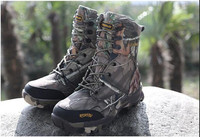 Free Shipping Camo Hunting Boots Realtree AP Camouflage Snow Waterproof Outdoor Boot Hunting Fishing Shoes