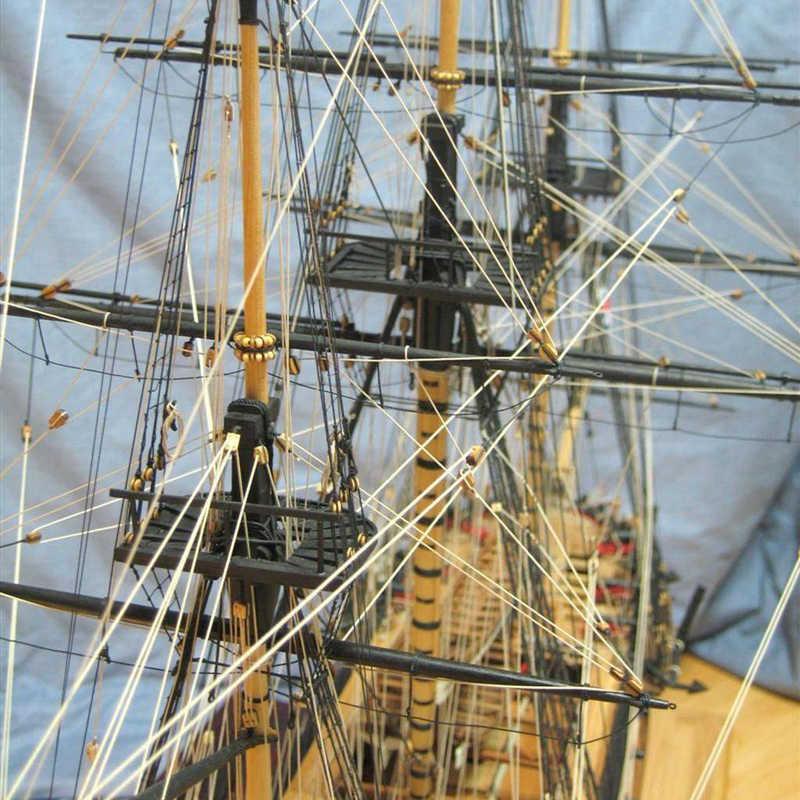 ערכות מודלים ספינת עץ רכבת עץ סירות תחביב מודל Diy 3d לחתוך לייזר מודל בקנה מידה 1/64 צי בריטי הפריגטה HMS דיאנה 1794