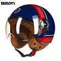 Brand New ECE Motorcycle Helmet Chopper 3/4 Open Face Vintage Helmet B1104 Moto Casque Casco motocicleta Capacete Unisex helmets
