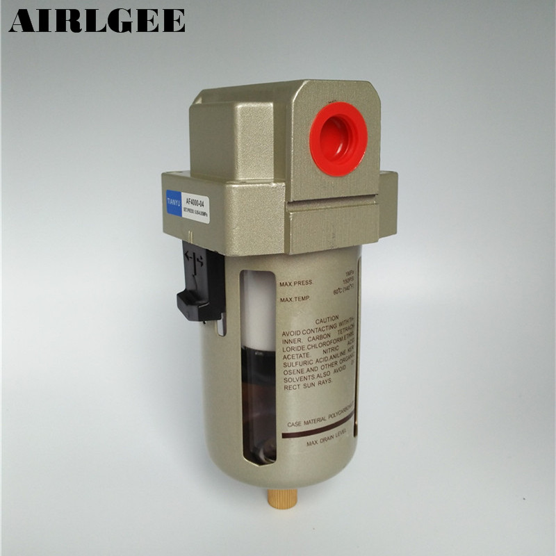 AF4000-04 1/2PT Air Source Processor Oil-Water Separator Pneumatic Air Filter japan smc original genuine source of gas source processor ad402 04 end of the automatic drain water separator
